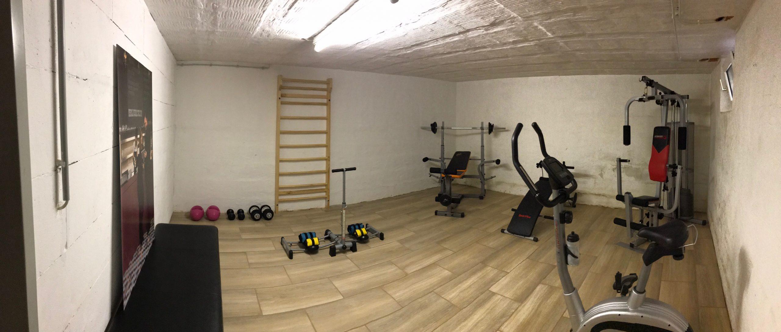 Schwitzen im Keller: Fitnessraum einrichten  Die Fogiis